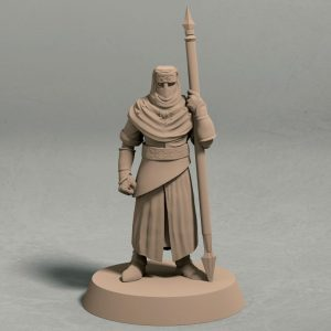 Nights Cult spearman pose 1 front