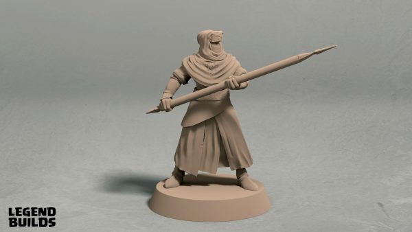 Nights Cult spearman pose 2 front
