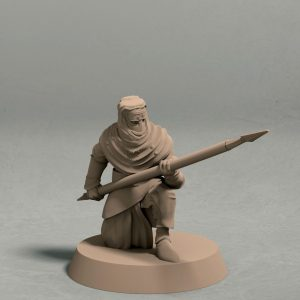 Nights Cult spearman pose 3 front