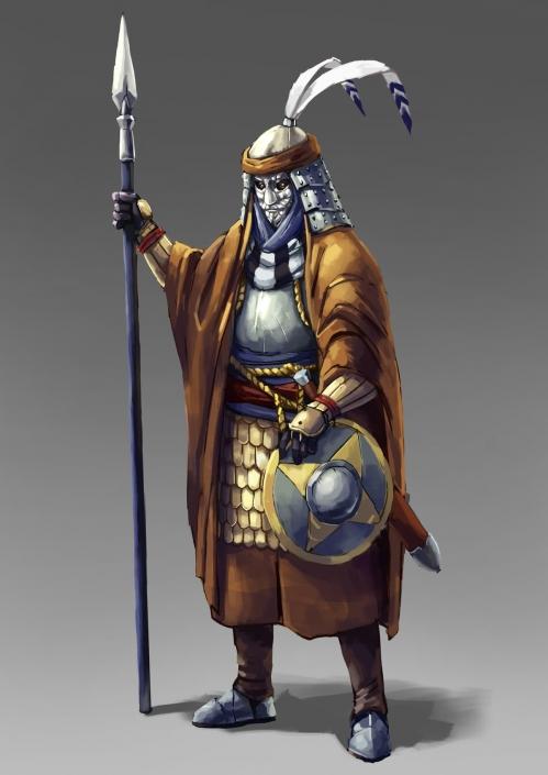 Palace guard Jagrad illustration