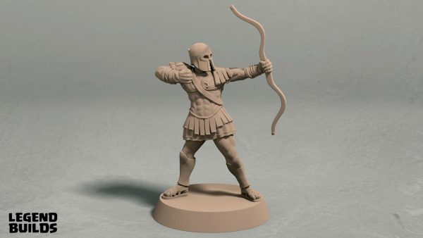 Realm of Eros soldier archer pose 1 front
