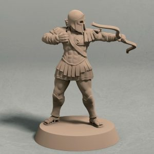 Realm of Eros soldier archer pose 2 front