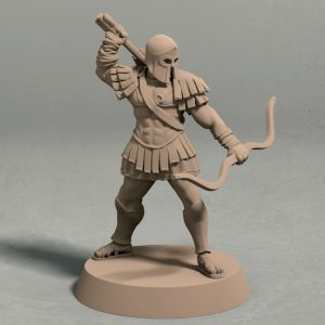 Realm of Eros soldier archer pose 3 front