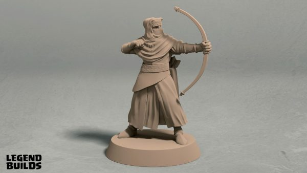 Nights Cult archer pose 2 front