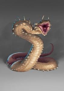 Xantian desert snake