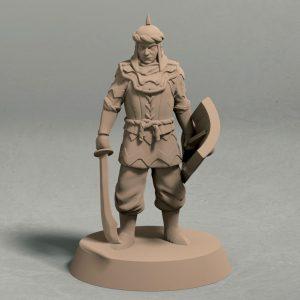Jagradian empire swordsman pose 1 front