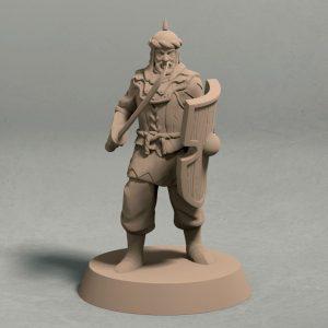 Jagradian empire swordsman pose 3 front