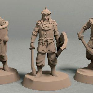 Jagradian empire swordsmen pack front
