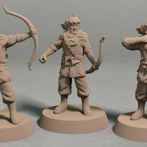 Jagradian empire archer pack front
