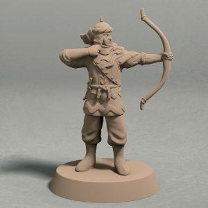 Jagradian empire archer pose 2 front