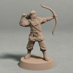 Jagradian empire archer pose 3 front