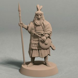 Empire of Jagrad Palace guard pose 1 front