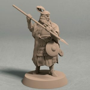 Empire of Jagrad Palace guard pose 2 front