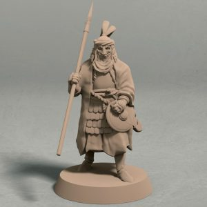Empire of Jagrad Palace guard pose 3 front