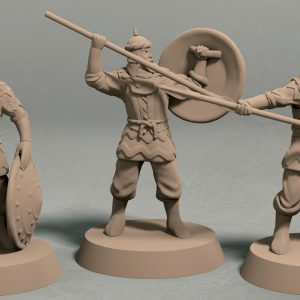 Empire of Jagrad spearman pack front