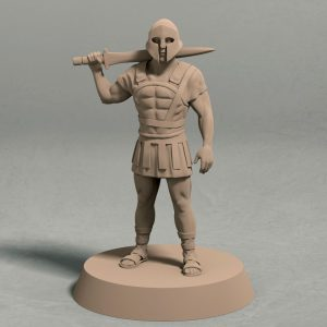 Realm of Eros City Guard Pose 3 front