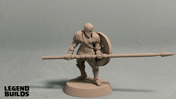 Realm of Eros longspear pose 1 front
