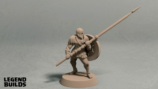 Realm of Eros longspear pose 2 front