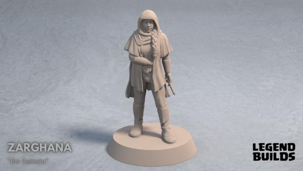 Zarghana the Assassin front