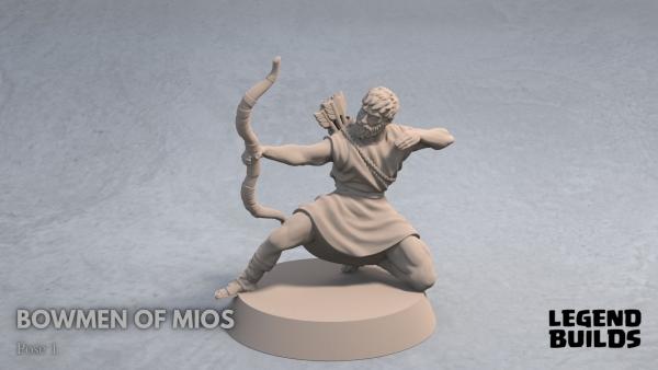 Bowmen of Mios Pose 2 Front